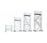 Aliuminis bokštelis RUX  MOBILO su aikštele 10,5x 2.6x1.4m